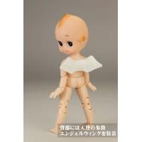 Obitsu 11cm Figure Natural Makeup Head & Angel Wings 11FQ-A01N