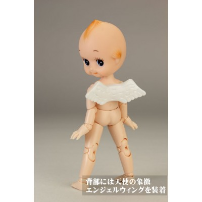 Obitsu 11cm Figure Natural Makeup Head & Angel Wings 11FQ-A01N
