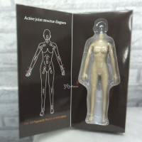 JIAOU Doll 1/6 Seamless Female Soft Body White 128000-WHE