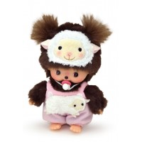 201520 Sekiguchi Monchhichi Bebichhichi BBCC Plush Year of Sheep