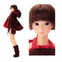 Wake Up Momoko WUDsp Monchhichi Hood Cap Doll 219087