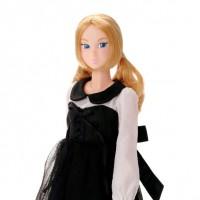 Momoko 27cm Girl Doll - Black Riding Hood 219056
