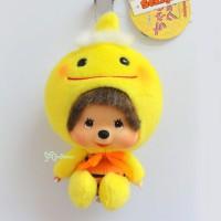 Monchhichi Big Head MCC x Chamekko Keychain Pikapon 220520