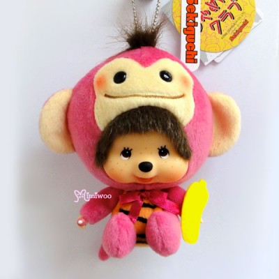 Monchhichi Big Head MCC x Chamekko Monkey Boy Chi Tan 220530