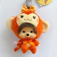 Monchhichi Big Head MCC x Chamekko Keychain Monkey Chikita 22056