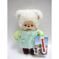 231470 Sekiguchi MCC Anime Monchhichi Friend Plush Cham Sheep