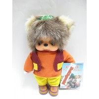 231480 MCC Anime Monchhichi Friend Plush Tanu Tanu Raccoon