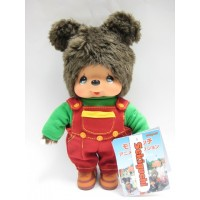 231490 Sekiguchi MCC Anime Monchhichi Friend Plush Kuma Bear