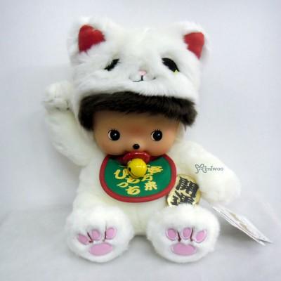 231973 Sekiguchi Bebichhichi Plush L Size Softy Head Lucky Cat