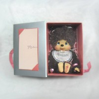 Monchhichi 40th Anniversary M MCC Box Set Poodle Boa Girl 232190