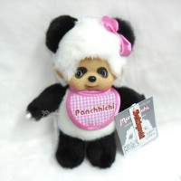 233190 Monchhichi Plush 20cm S Size Panda MCC Panchhichi Girl