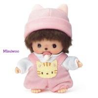 Bebichhichi Sekiguchi  First Animal Pink Kitten Romper 235980
