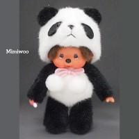 236520 Sekiguchi Monchhichi S Size Animal MCC Standing Panda