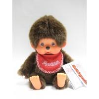 Monchhichi S Size Sitting Boy MCC Red Bib 239000
