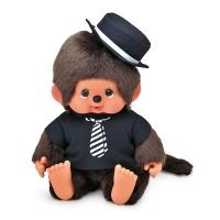Monchhichi L Super Soft Head Sitting MCC Boy Necktie Tee 241477