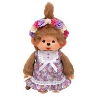 Monchhichi M CanCam x MCC Limited Flower Dress Plush 243433