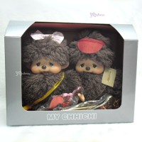 251430 Sekiguchi Monchhichi 35th Anniversary Mychhichi Box Set