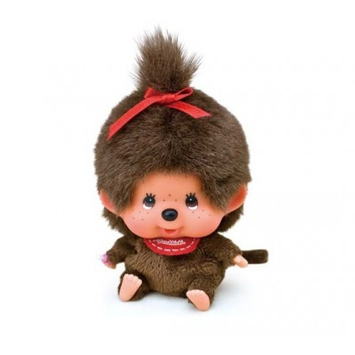 Monchhichi 13cm Big Head MCC Bean Bag Sitting Girl 251630