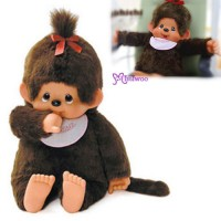 Monchhichi Large MCC 2L Girl 33