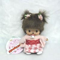 256170 Sekiguchi Monchhichi Baby Bebichhichi BBCC Sakura Girl