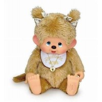 Monchhichi Sitting MCC (XL) Soft Head Gold Girl 256250