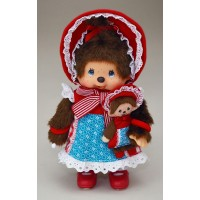 "Monchhichi S Size 8"" Plush MCC Modern Doll with her Buddy 258500"