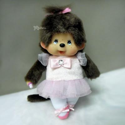 Monchhichi S Size Plush MCC Ballerina Girl 259030