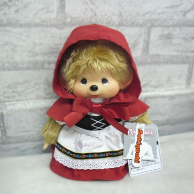 Monchhichi M Size Fairy Tale Girl Red Hood Hat 259632