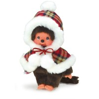 Monchhichi S Size Plush Winter Fashion MCC Girl 259748