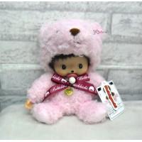 Bebichhichi M Size Plush Doll Teddy Bear BBCC Pink 259793