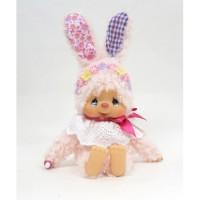 Monchhichi S Size Plush MCC Chimtan Flower Bunny Girl 259892