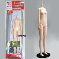 25BD-F02W-G Obitsu 25cm dollfie Body Soft Bust M White Magnet