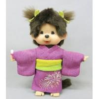 Monchhichi 2016 Summer Yukata MCC S Size Girl Plush 260058