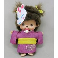 Monchhichi Bebichhichi 2016 Summer Yukata BBCC Girl Plush 260065