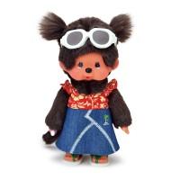 Monchhichi S Size Plush MCC Happy Sunny Girl 260089