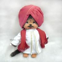 276020 Sekiguchi Monchhichi Plush 20cm MCC National Indian Boy