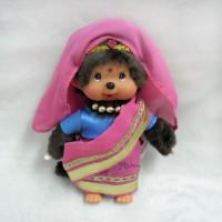 276030 Sekiguchi Monchhichi Plush 20cm MCC National Indian Girl