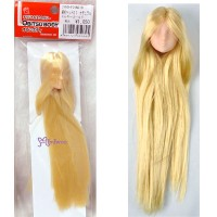 27HD-F01NC18 Obitsu 1/6 Doll Natural Head 01 Long Hair Gold