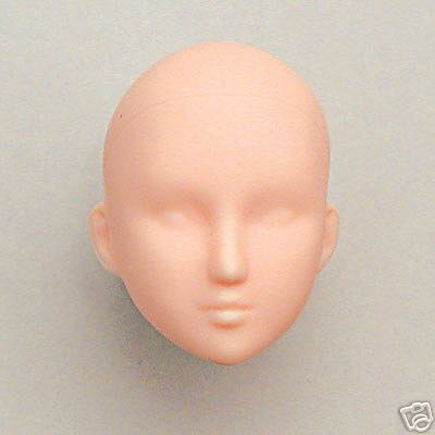 27HD-F01NX1 Obitsu 1/6 27cm Female Body Doll Head - 01 Natural