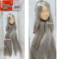 27HD-F01WC17 Obitsu 1/6 Doll White Head 01 Long Hair Silver