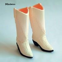 27SH-F008M Obitsu Female Blythe Momoko Cowboy Boots Cream