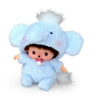Monchhichi Baby Bebichhichi BBCC Animal Elephant 292270