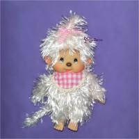 Sekiguchi Monchhichi Mokomoko Plush Doll MCC S Pink Girl 293760