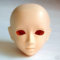 60HD-F07N-E Obitsu 60cm HARUKA Head with Eyehole - F07 Natural