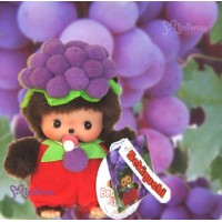 Bebichhichi Taiwan Limited Plush BBCC Fruit Grape 700340
