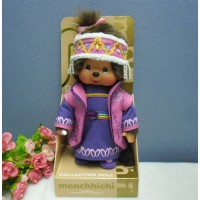 Monchhichi S Size MCC Plush National Chinese Girl 703010