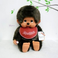 Monchhichi XL Soft Head with Bib Sitting MCC Boy 759640