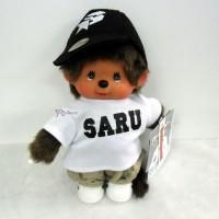 843690 Santastic Wear x Monchhichi S Size Plush SARU MCC White