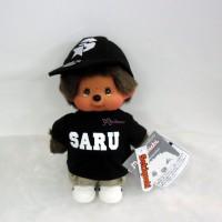 843710 Santastic Wear x Monchhichi S Size Plush SARU MCC Black