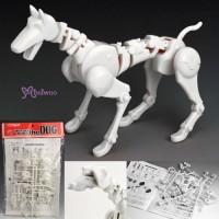 ANDG-KT01W01 Obitsu the DOG Body Assembly Kit 1/6 Figure White